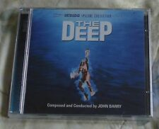 THE DEEP (John Barry) rare original factory sealed ltd.ed. USA 2-cd set (2010)