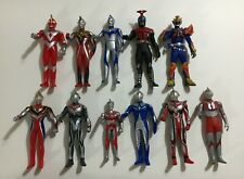 Variety Of Ultraman Figures (11) Japanese / Bandai (Used/Play Condition)