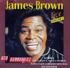 "JAMES BROWN : ""LIVE"" VOLUME 2 / CD"