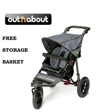 out N About Nipper 360 V4 (steel Grey) All Terrain Single Baby Pushchair