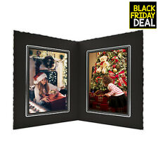 """50 Pack - Cardboard Photo Folder for Double 4""""x6"""" Photos Pictures"""