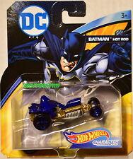 HOT WHEELS 2018 DC COMICS BATMAN HOT ROD CHARACTER CARS