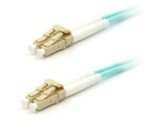 10Gb Duplex Multimode 50/125 OM3 LSZH Fiber Patch Cable, (LC/LC) 7M/23ft.