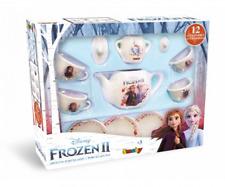 Smoby Toys 7600310592 - Roleplay - Frozen 2 Porzellan Kaffee-Geschirrset - Neu