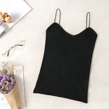Women Sexy Knitted Tank Tops Vest Summer Camisole Fashion Sleeveless Blouse