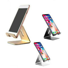 Universal Cell Phone Tablet Desktop Stand Desk Holder Mount Cradle Aluminium UK-