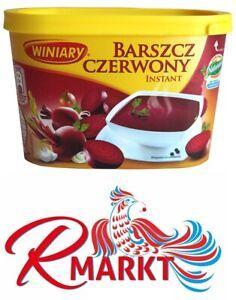 """Winiary Polnische Rote Bete Trockensuppe """"Barszcz"""" zupa proszku Barszcz czerwony"""