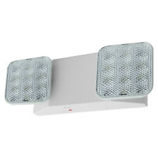 All Led Emergency Exit Light - Square Head Ul Fire Code Safety Egress - Elw2