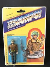 Vtg Lanard 1986 The Corps International Security Force GUNNER O'GRADY MOC Gi Joe