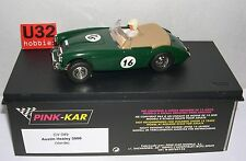 PINK-KAR CV049 SLOT CAR AUSTIN HEALEY 3000 VERDE  MB