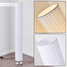 Lampadaire Retro Lampe de chambre à coucher Chrome Lampe sur pied Métal/Tissu