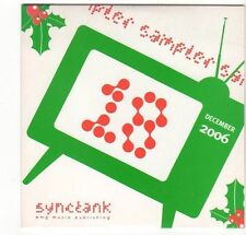 (EZ396) Synctank December 2006 sampler, 21 tracks various artists - DJ CD