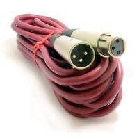 6m XLR Lead High Quality OFC Digital Signal Microphone Audio Cable [007165]