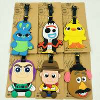 toy story fork chick PVC tag luggage tags Baggage Tag brand anime travel gift