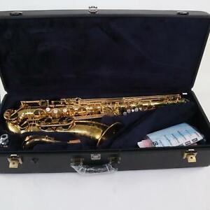 Yamaha YTS-82ZIIU Professional Tenor Saxophone SN E74811 FACTORY UNLACQUERED