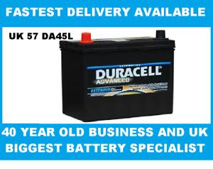 DA45L Duracell Advanced Car Battery 12V 45Ah (049 - DA 45L)