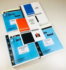 Set International 1586 Tractor Service Parts Operators Manual Catalog Shop Book