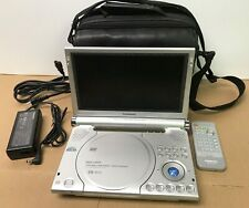 "Panasonic Portable DVD Player DVD-LS91 9"" LCD Screen, Remote, Travel Case-Tested"