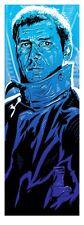 BLADE RUNNER Rick Deckard Poster Harrison Ford S/N TIM DOYLE limited edition