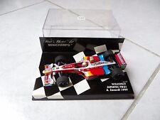 Williams Supertec FW21 Alex Zanardi #5 Minichamps 1/43 1999 F1 Fórmula 1