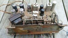 Vintage TRUETONE Model D-1143 Tube Radio CHASSIS Western Auto