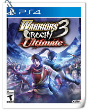 PS4 WARRIORS OROCHI 3 ULTIMATE ENG / 无双大蛇2 终极版 中文 SONY Action Koei Tecmo Games