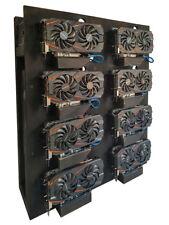 Mining Rig - Ethereum - Litecoin - Monero - Open Air Geh 8 GPU mining rig case