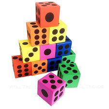 12 un. Eva Espuma Suave Bebé Niños Niños Play Mat Número Puzzle Juego de dados