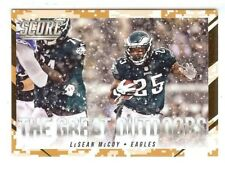 LESEAN MCCOY 2015 PANINI SCORE DESERT CAMO PARALLEL THE GREAT OUTDOORS #1 EAGLES