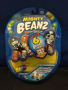 Mighty Beanz 2003 NIB Series 2 -- pack of 6 Spin Master toys