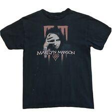 Marilyn Manson T Shirt Sz S M Black Eat Me Drink Me Merchandise Official Concert