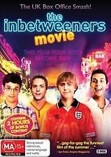 The Inbetweeners Movie (2 DISC DVD, 2012) R4 PAL NEW FREE POST