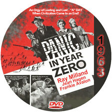 "Panic in Year Zero (1962) Sci-Fi and Horror NR CULT ""B"" Movie DVD"
