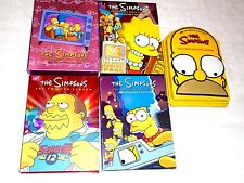 Lot 5 The Simpsons Third, Sixth, Seventh, Nine, Twelfth DVD Collectors Editions