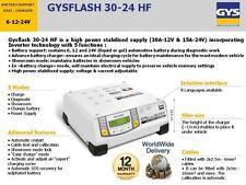 GYS FLASH 30.24 6V 12V 24V BATTERY SUPPORT CHARGER UNIT INVERTER TECHNOLOGY