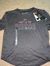 "NWT sz S Under Armour t-shirt  ""Stay Fierce"" - GT 40"