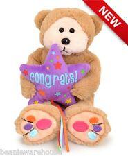 BEANIE KIDS COOPER THE CONGRATS! BEAR BK2-203 OCTOBER '15 NEW RELEASE