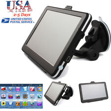 "8GB 7"" Truck Car GPS Navigation Navigator Free USA Canada Mexico EU World Map"