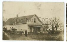 RPPC Old Follett General Store COLOMA WI Vintage Wisconsin Real Photo Postcard