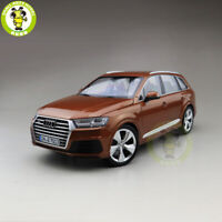 1/18 Almost Real Minichamps Audi Q7 Diecast Model Car SUV Toys Boys Gifts Brown