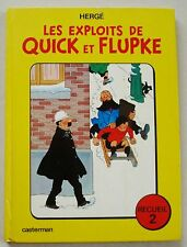 Les Exploits de Quick et Flupke ; Recueil 2  HERGE éd Casterman