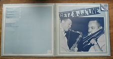 Ex Stan Getz & J.J. JOHNSON-GETZ & JJ Live UK Dble LP EX/EX