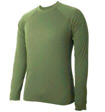 GENTS BASE LAYER T-SHIRT Mens olive XL cold weather 4 season technical top