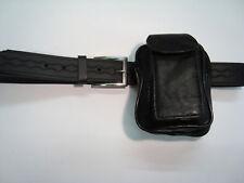 Suave Cinturón De Cuero Pouch Para Teléfono De Viaje, uso Diario