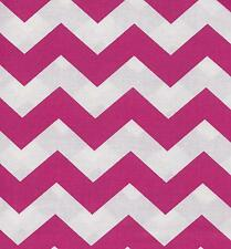 QUILT FABRIC:TONAL 100% COTTON, LARGE CHEVRON,  FLAMINGO, LC-10, By The Yard