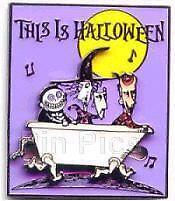 Disney Magical Musical Moments  Halloween Lock Shock & Barrel Nightmare NBC Pin