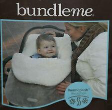 Bundle Me plush bundle stroller baby wrap