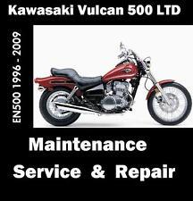 kawasaki motorcycle service repair manuals for sale ebay rh ebay com 2001 Kawasaki Vulcan 500 Black 1999 Kawasaki Vulcan 500
