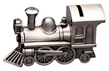 NEW Pewter Money Box Train, Birth, christening, new, baby