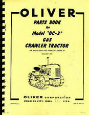 Oliver Tractor Heavy Equipment Manuals for Crawler Tractor | eBay on